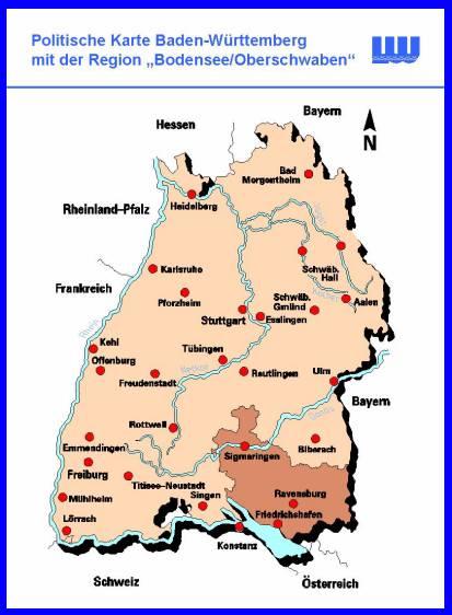 kreis ravensburg karte